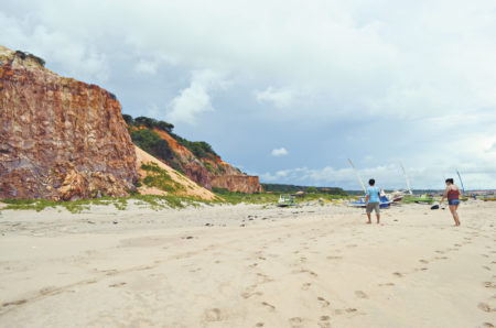 Praia de Ponta Grossa, Ceará (Foto: Ellen Freitas)